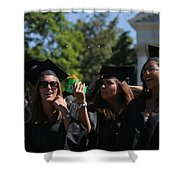 Graduation Uva Shower Curtain