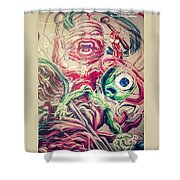 Graff In The City Shower Curtain
