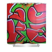 Graff Love Shower Curtain