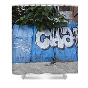 Graffiti-0579 Shower Curtain