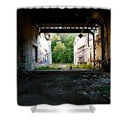 Graffiti Alley 1 Shower Curtain