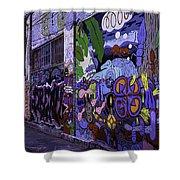 Graffiti Alley San Francisco Shower Curtain