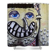 Graffiti Art Buenos Aires 1 Shower Curtain