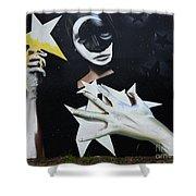 Graffiti Art Curitiba Barazil 13 Shower Curtain by Bob Christopher