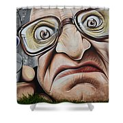 Graffiti Art Curitiba Brazil 22 Shower Curtain