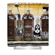 Graffiti Art Recife Brazil 20 Shower Curtain
