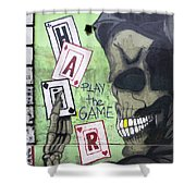 Graffiti Art Rio De Janeiro 4 Shower Curtain