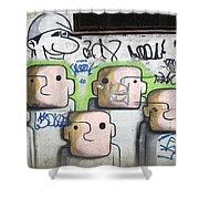 Graffiti Art Rio De Janeiro 5 Shower Curtain