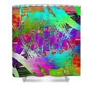 Graffiti Cubed 2 Shower Curtain