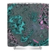 Graffiti Mix Shower Curtain