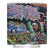 Graffiti Series 01 Shower Curtain