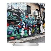 Graffiti Series 02 Shower Curtain