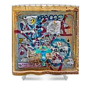 Graffitis Shower Curtain