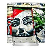 Grafitti Three Lady Shower Curtain
