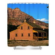 Grafton Utah 1866 Shower Curtain