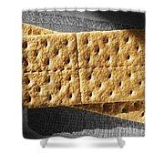 Graham Crackers Shower Curtain