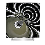 Graham Grille Orb Shower Curtain