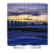 Grain Barns Shower Curtain