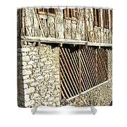 Grain Storage Shower Curtain