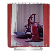 Grama's Faucet Shower Curtain