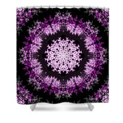 Grammy's Psychedelic Doily Shower Curtain