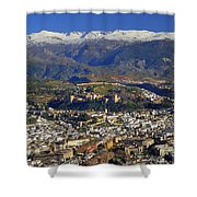 Granada And The Alhambra Shower Curtain