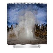 Grand And Vent Shower Curtain
