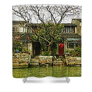 Grand Canal China Shower Curtain