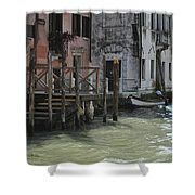 Grand Canal Style Home Sweet Home Shower Curtain