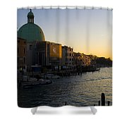 Grand Canal Venice Shower Curtain