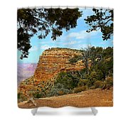 Grand Canyon - South Rim Shower Curtain