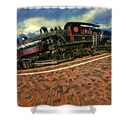 Grand Canyon 29 Railway Shower Curtain