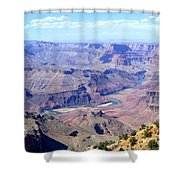 Grand Canyon 64 Shower Curtain by Will Borden