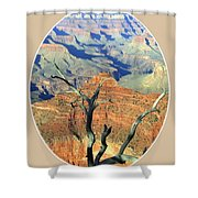 Grand Canyon 77 Shower Curtain