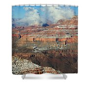 grand Canyon After the Snow Shower Curtain