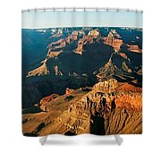 Grand Canyon At Sunset Shower Curtain