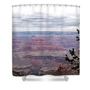 Grand Canyon Awaiting Snowstorm Shower Curtain