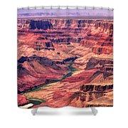 Grand Canyon Colorado Canyon Shower Curtain