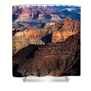 Grand Canyon Colors Shower Curtain