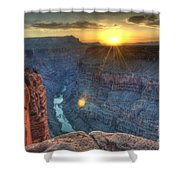 Grand Canyon First Light Shower Curtain