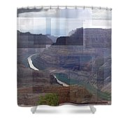 Grand Canyon Guano Point Shower Curtain
