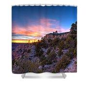 Grand Canyon Lodge Shower Curtain