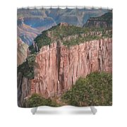 Grand Canyon North Rim Shower Curtain