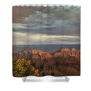 Grand Canyon North Rim Sunset Shower Curtain