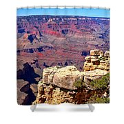 Grand Canyon Of Red By Diana Sainz Shower Curtain