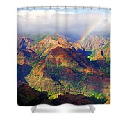 Grand Canyon Of The Pacific Shower Curtain