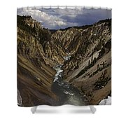 Grand Canyon Of The Yellowstone - 25x63 Shower Curtain