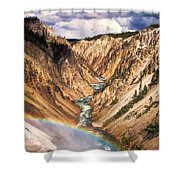 Grand Canyon Of Yellowstone 1 Shower Curtain