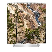 Grand Canyon Of Yellowstone Shower Curtain