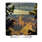 Grand Canyon Peek Shower Curtain